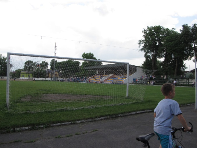 Hirka/ Górka Stadium, home to Teplovyk Ivano-Frankivsk, 9:0 winners over Enerhetyk Burshtyn